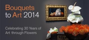 Bouquets to Art 2014