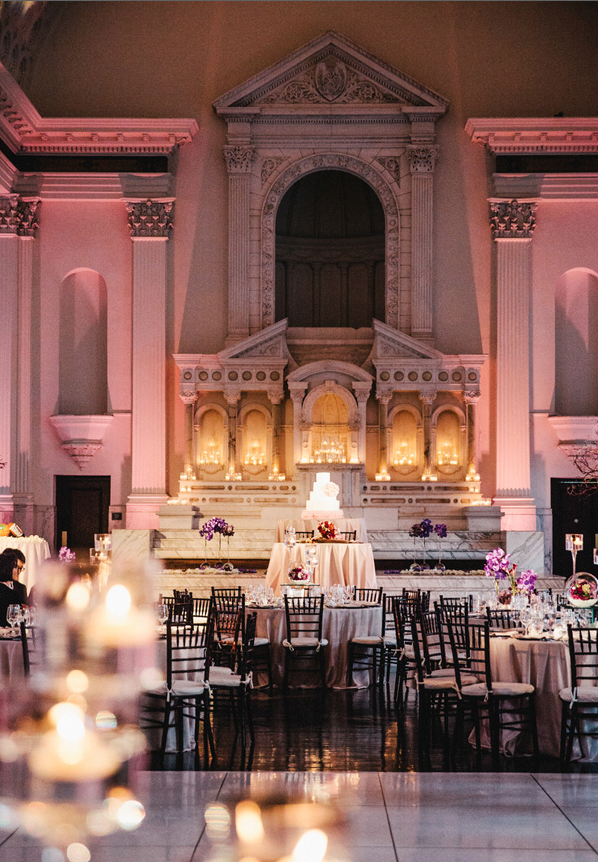 Dtla wedding flowers fit for a cathedral la petite gardenia junglespirit Images