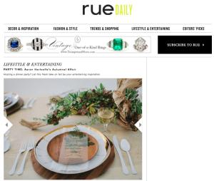 Rue Daly Magazine