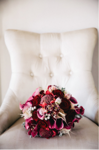 Modern Jewel Tone Bouquet
