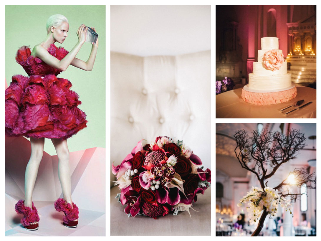 Modern Wedding Inspired by Alexander McQueen