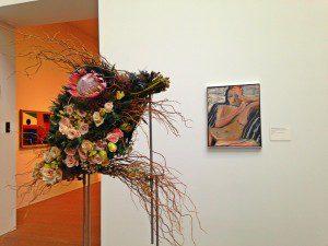 Bouquets to Art 2014 blush color palette
