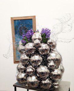 Bouquets to Art 2014 grape installation
