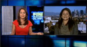 Alison Franchi, owner of La Petite Gardenia, on Fox News